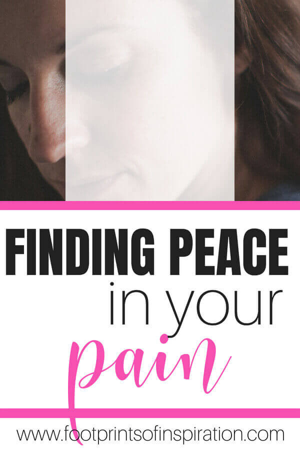 Are struggling with constant pain and struggle in your life? Learn how you can have both pain and peace all at the same time #peace #god #faith #peaceinthestorm #strength
