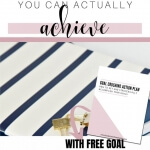 Stop letting yourself down and set goals you can actually achieve
