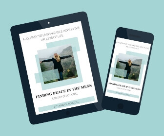Download Finding Peace in the Mess - A 30-day journey to unshakeable hope in the valleys of life, on Amazon Kindle now! #footprintsofinspiration #christianliving #hardtimes #christianlife #hope