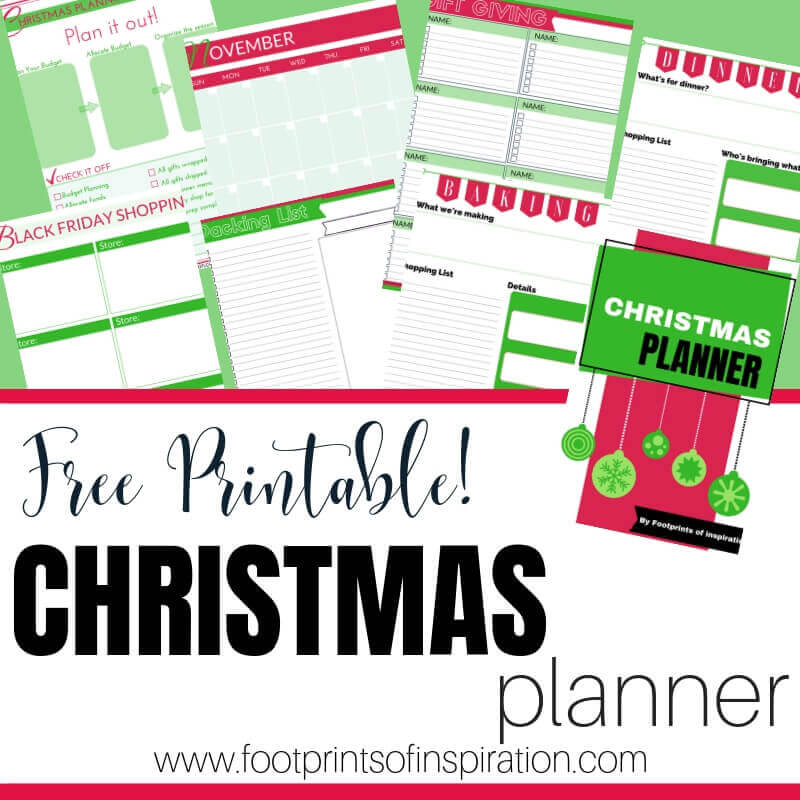 Download your FREE Christmas Planner and take control of your holiday season so you have time for what truly matters.