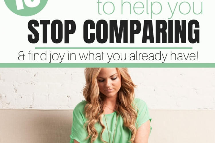 Do you find yourself constantly comparing your journey to someone else's? Learn these 10 truths and start enjoying what you already have.