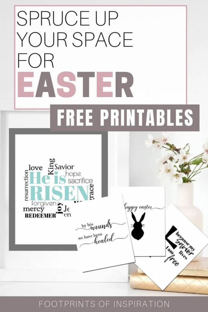 Spruce up your space with these adorable free Easter Printables