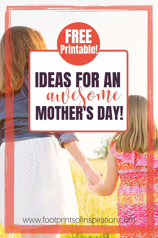 I love these awesome ideas to celebrate your Mother's Day