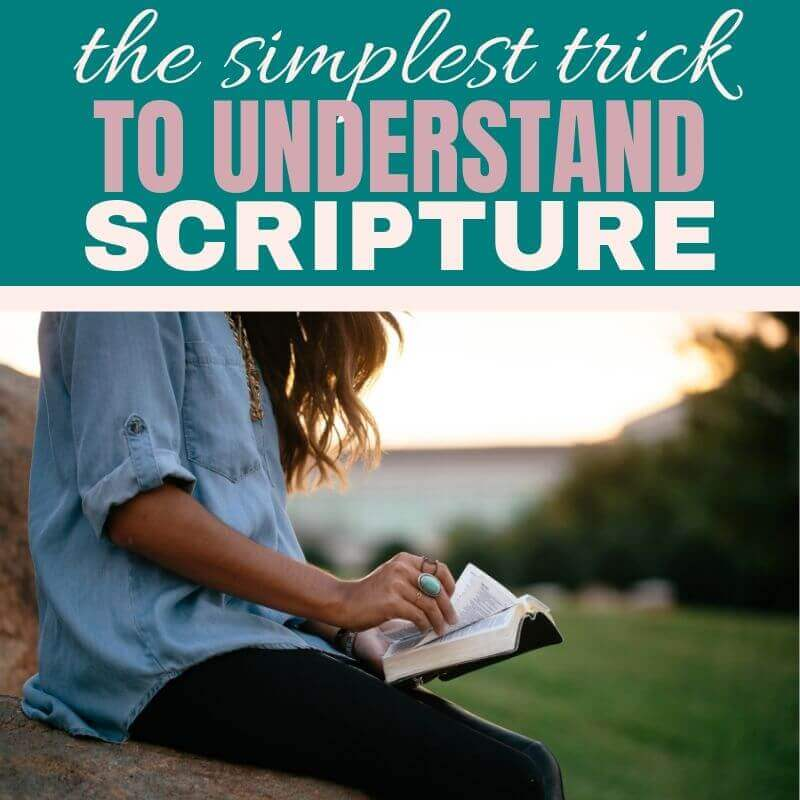 Understand Scripture the Easy Way