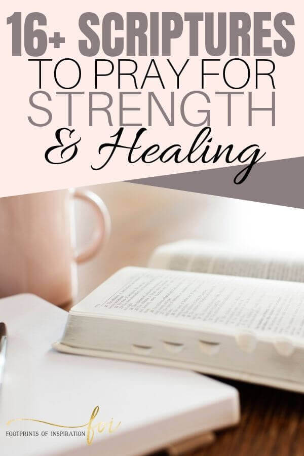 Scriptures for healing and strength