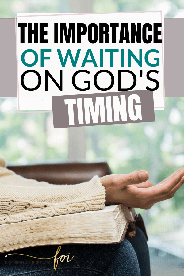 Waiting on God's perfect timing