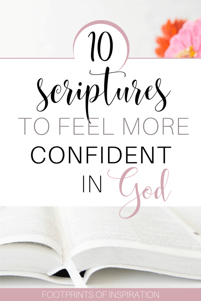 Bible verses to build confidence in your relationship God