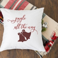 Easy DIY Christmas Pillows with Free SVG Cut Files