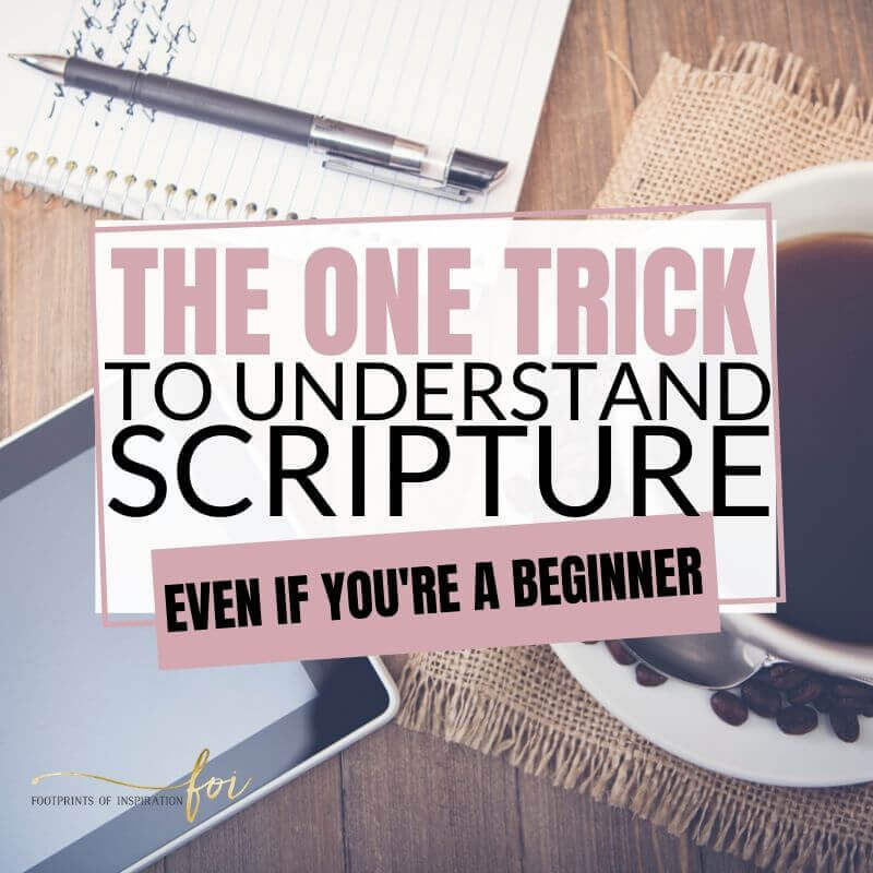 Understanding Scripture the Easy Way