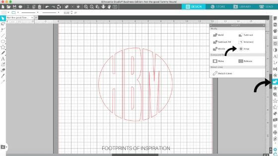 Learn how to create a circle monogram in minutes using Silhouette Studio