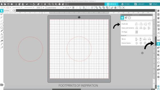 Learn how easy it is to create a circle monogram using Silhouette Studio