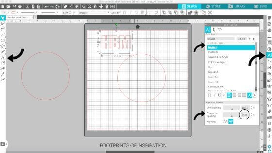 Learn how easy it is to create a circle monogram in Silhouette Studio