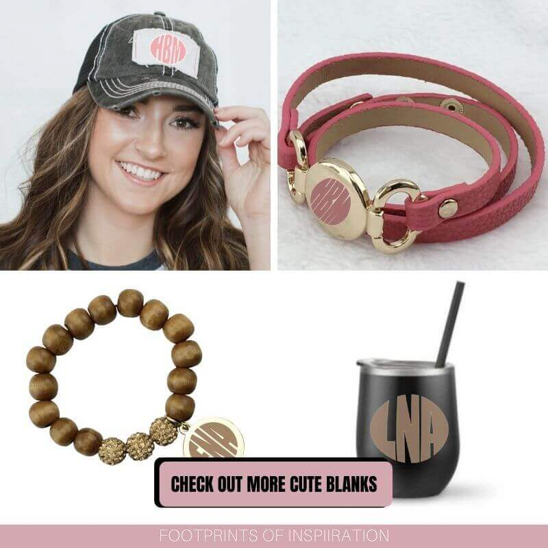 Easily create a circle monogram in Silhouette Studio and personalize all your gifts this year!