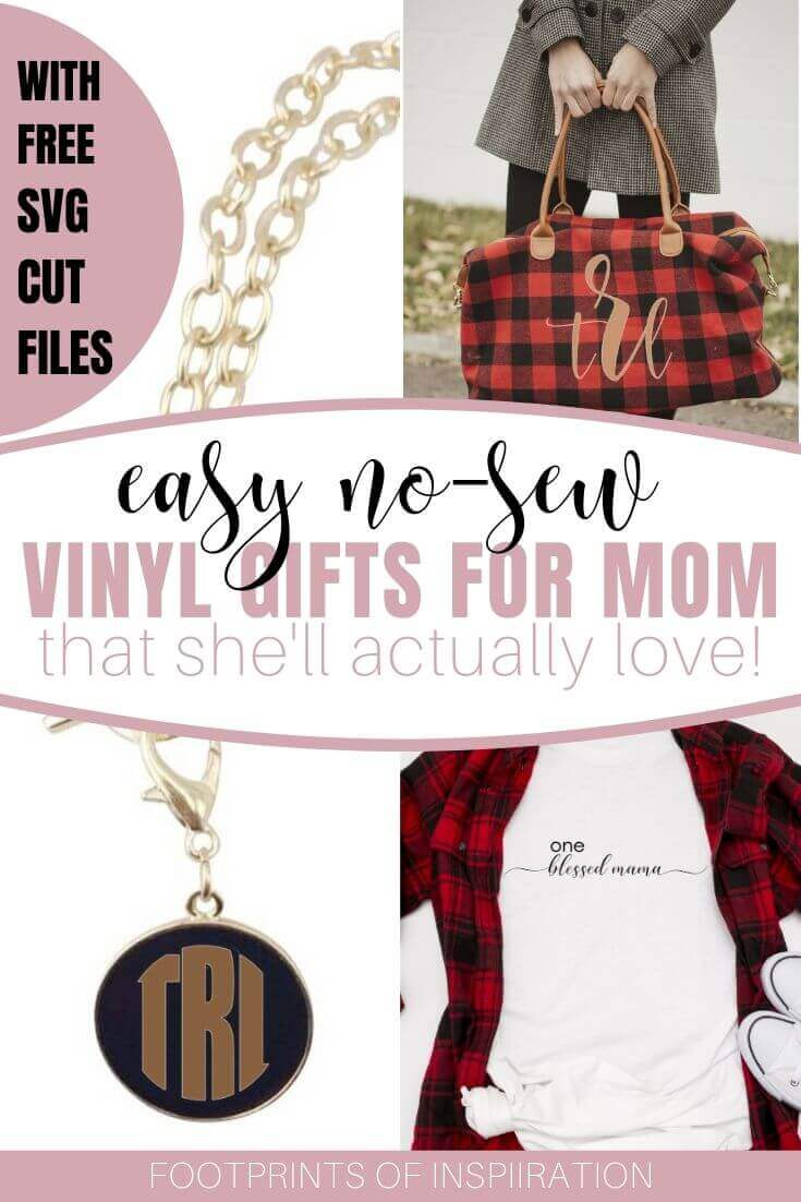 Easy No Sew Vinyl Gifts that Mom will Actually Love
