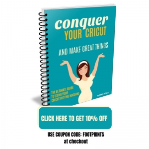 Get 10% off on Conquer Your Cricut