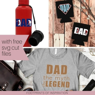 EASY VINYL GIFTS FOR DAD WITH FREE SVG CUT FILES