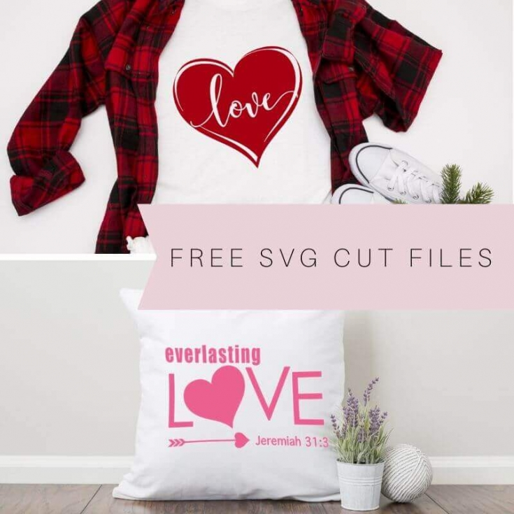 Easy DIY Christmas Throw Pillows with Free SVG Cut Files