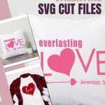 Download these FREE Valentine SVG Cut Files and create cute gifts using your Silhouette or Cricut Cutting Machine