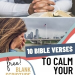 10 Bible Verses to Calm Your Fears and Anxiety