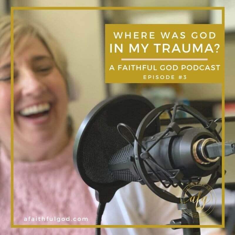 Where Was God in My PTSD & Traumatic Brain Injury