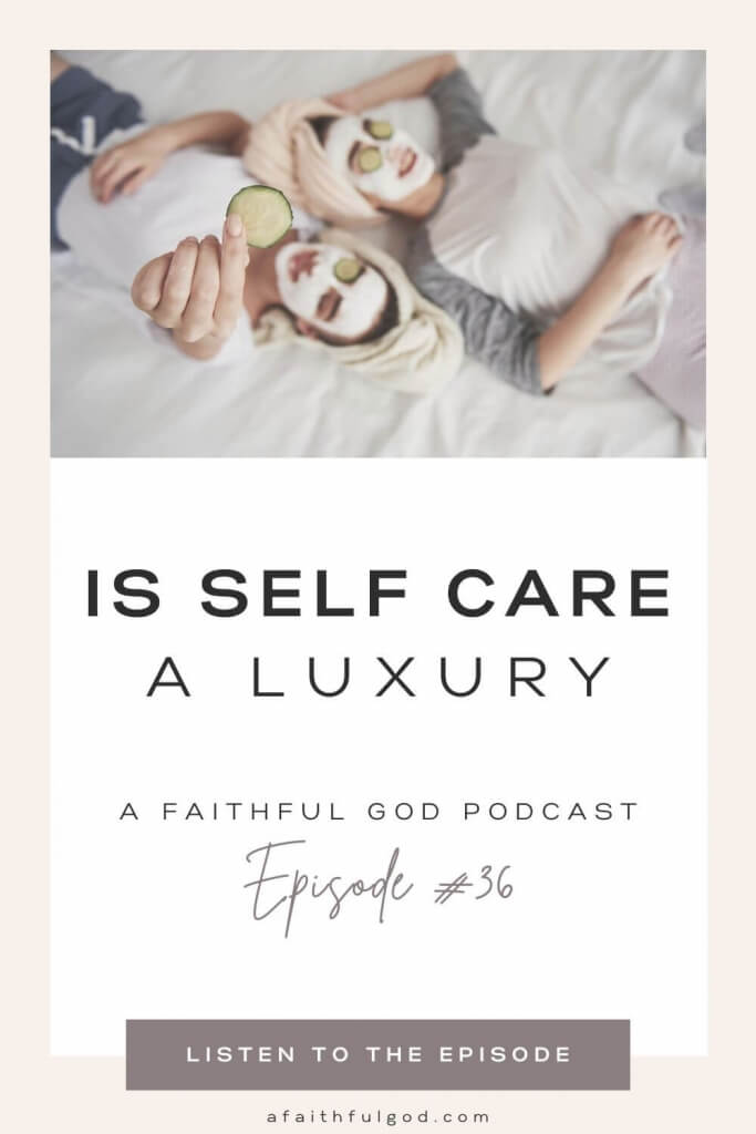Is Self Care a Luxury