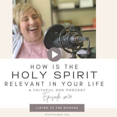 HOW IS THE HOLY SPIRIT RELEVANT IN YOUR LIFE