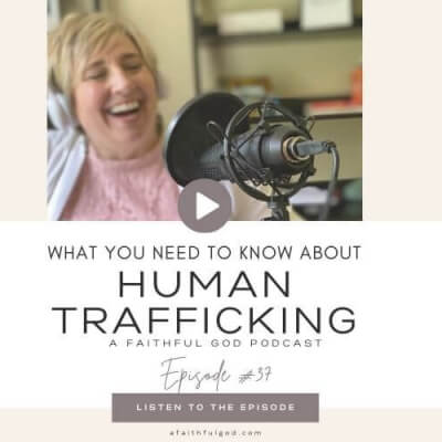 WHAT YOU NEED TO KNOW ABOUT HUMAN TRAFFICKING