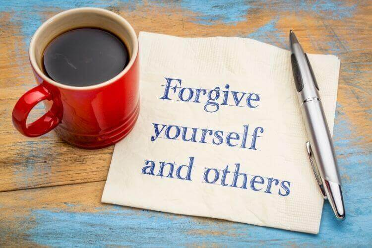 Forgive Yourself and Forgive Others as Jesus has Called Us To Do.