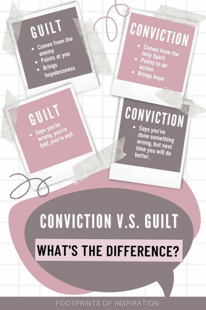 Conviction V.S. Guilt - What's the Difference