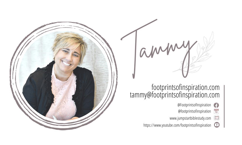 Tammy Rotzoll from Footprints of Inspiration